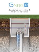 Scheda tecnica Sonde UHS UHS probes Data Sheet