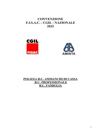 ammanchi di cassa+rc professionale - 2015 - Aminta Fisac-CGIL