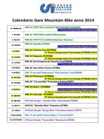 calendario gare mtb del csi 2014