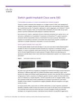 Stackable Managed Switch Cisco serie 500