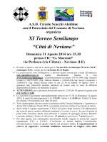 XI semilampo di Neviano val. GPSP