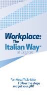 Workplace: The Italian Way