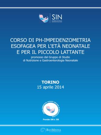 Corso di pHImpedenziometria Esofagea programma