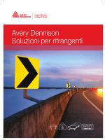 Avery Dennison Soluzioni per rifrangenti