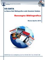 Rassegna bibliografica N. 2 2014 - Rivista italiana della saldatura