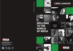 WELCOME TO THE WORLD OF WEGA - WEGA