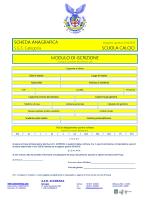 scheda anagrafica scheda anagrafica scuola - ASD