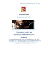 POCS 2013-2015 - Regione Siciliana
