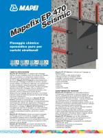 Mapefix EP 470 Seismic Mapefix EP 470 Seismic