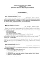 Presentazione dei corsi (A.A. 2014-2015)