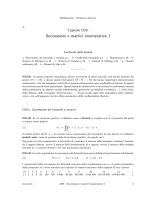Successioni e matrici enumerative 1 - CNR