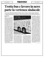 Trotta bus e lavoro in nero parte la vertenza sindacale