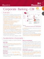 Corporate Banking - CBI