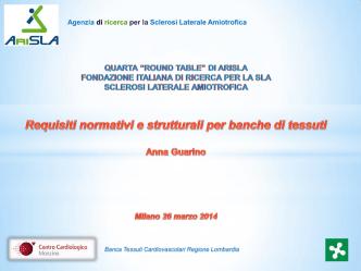 Banca Tessuti Cardiovascolari Regione Lombardia