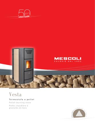 50caldaie di qualità Termostufa a pellet Pellet-burning