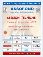 XXXII Convegno Nazionale ASSOFOND - 21-22 novembre 2014