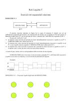 Reti Logiche T Esercizi reti sequenziali sincrone