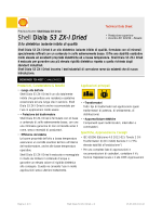 Shell Diala S3 ZX-I Dried