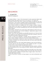 RICK OWENS - Furniture