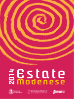 Programma estate modenese 2014
