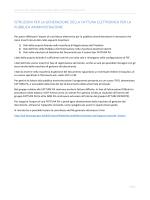 Guida sulla generazione della Fattura Elettronica per la PA