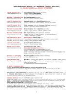 1 Amici della Musica di Udine 93a Stagione di Concerti 2014-2015