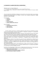 Sideropenia - Ospedali riuniti di Trieste
