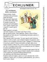 Quaresima 2014 elementari - Le Palme