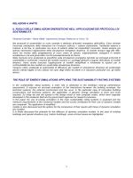 Bologna 2014 - I protocolli di sostenibilità ambientale