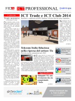 ICT Professional n. 1 - giugno 2014 (ICT Trade e