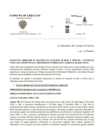 Direttiva Acquisti Beni e Servizi 16.01.2014