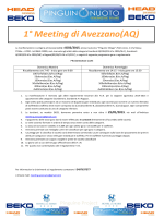 1° Meeting di Avezzano(AQ)