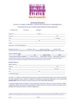XXI GIORNATE - FORM PRENOTAZIONE HTL x pdf