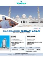 capodanno emirati arabi DUBAI ABU DHABI