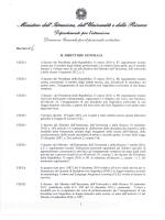 Decreto direttoriale - AEEE