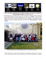 RESOCONTO del XXII GAD - Gruppo Astronomia Digitale