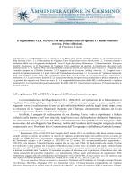 1 Il Regolamento UE n. 1024/2013 sul meccanismo unico di