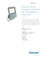 Product Familiy Leaflet: CoreLine Tempo