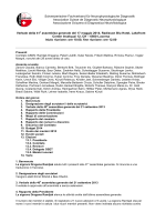 Protokoll GV 2014 Radisson Blu Luzern_it
