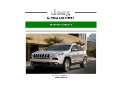 NUOVA CHEROKEE - Fiat Chrysler Automobiles EMEA Press