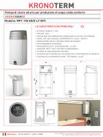 Pompa di calore ad aria per produzione di acqua calda sanitaria