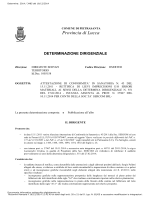 Attestazione di conformità in sanatoria n. 43 del 15.11.2011