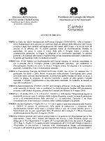 Avviso pubblico - Ufficio scolastico regionale per la Lombardia