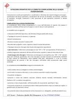 ISTRUZIONI OPERATIVE SCHEDA PERIOPERATORIA (ALLEGATO