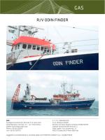 R/V ODIN FINDER - Gas