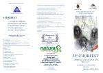 Programma Chorfest 11.6..97 - Associazione musicale Fabio da