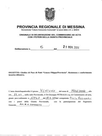 2 - Provincia Regionale di Messina