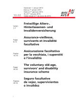Assurance-vieillesse, survivants et invalidité facultative