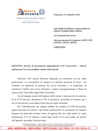 AGE.AGEDRCAL.REGISTRO UFFICIALE.0017828.12-09-2014-U