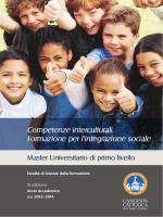 Master - Ufficio Scolastico Regionale per le Marche